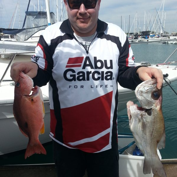 The catch from the Mooloolaba fishing charter